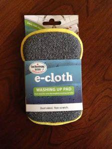 e-cloth washing pad