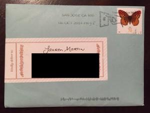 pennie post- envelope