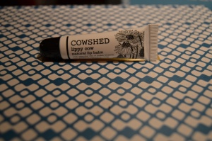 cowshed lippy balm